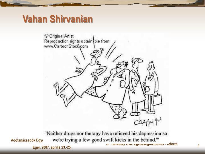 Vahan Shirvanian