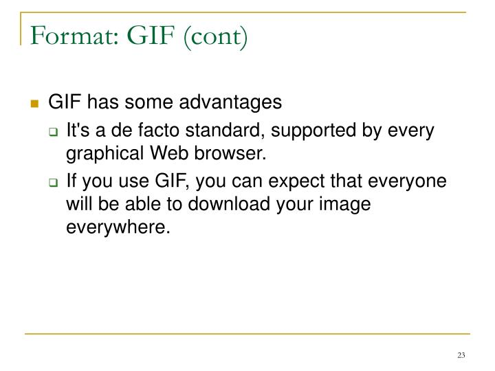 Format: GIF (cont)