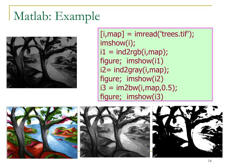 Matlab: Example