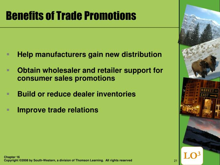 Benefits of Trade Promotions
