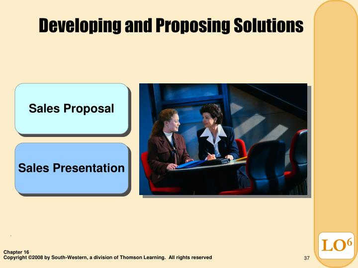 Developing and Proposing Solutions