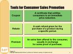 tools for consumer sales promotion2