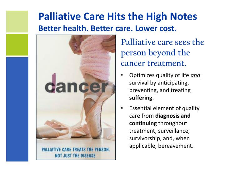 Palliative Care Hits the High Notes