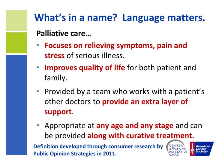 What's in a name?  Language matters.