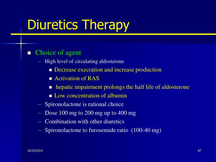 Diuretics Therapy