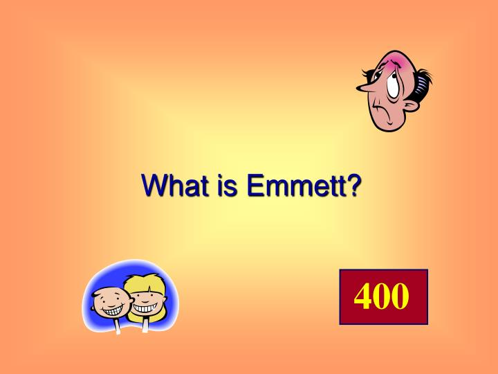 What is Emmett?