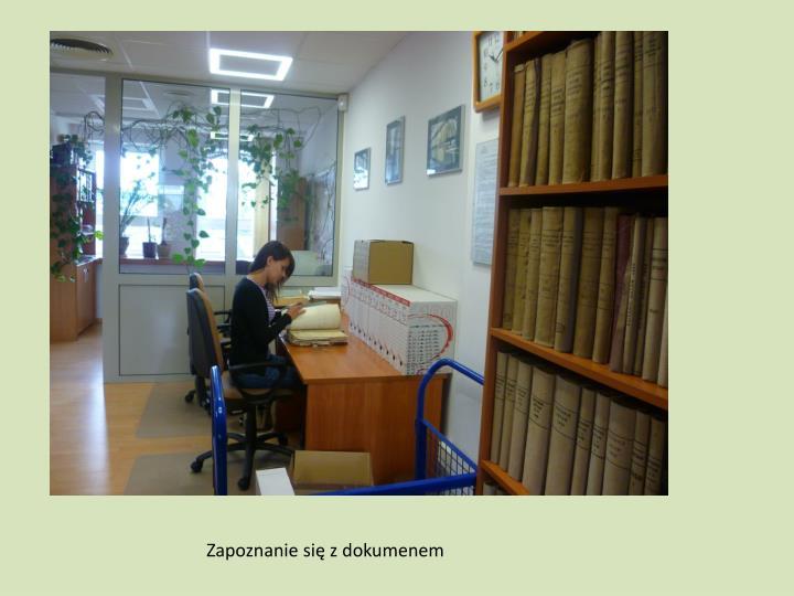 Zapoznanie się z dokumenem