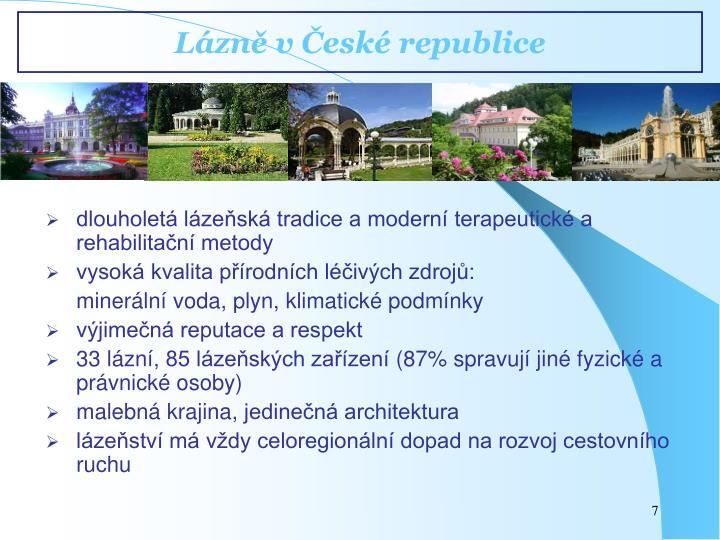 Lázně v České republice
