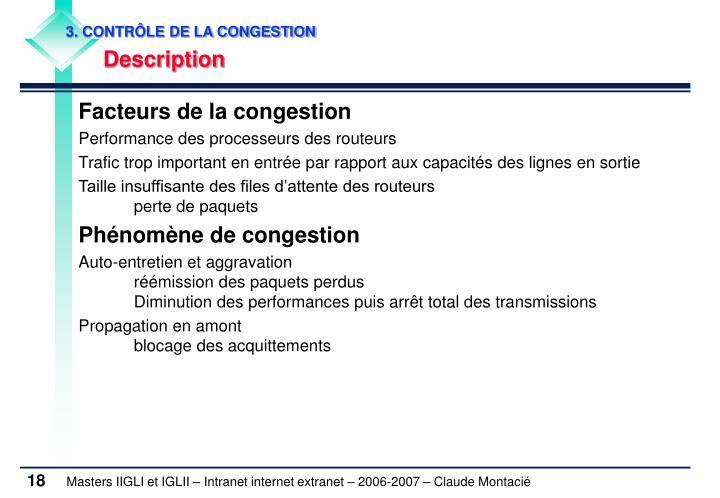 3. CONTRÔLE DE LA CONGESTION