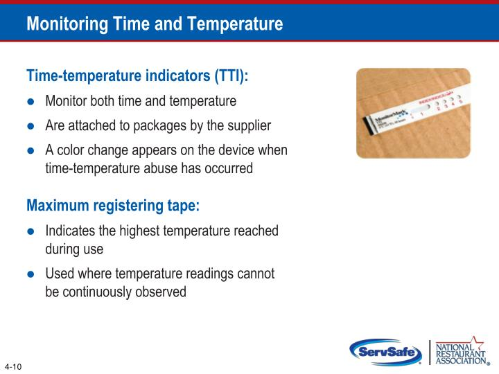 Monitoring Time and Temperature