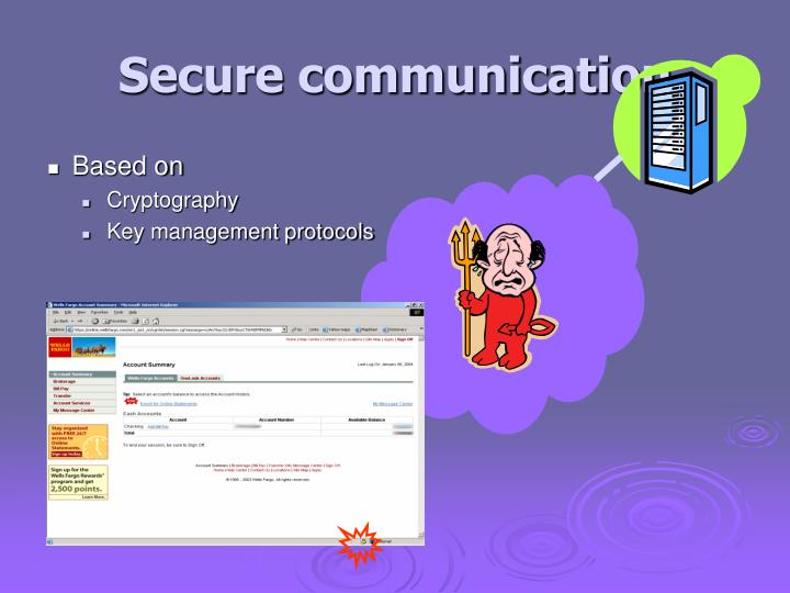 Secure communication
