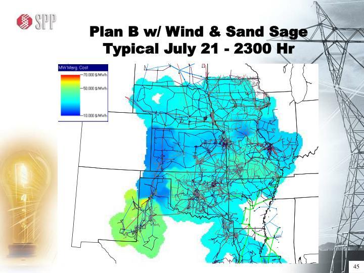 Plan B w/ Wind & Sand Sage