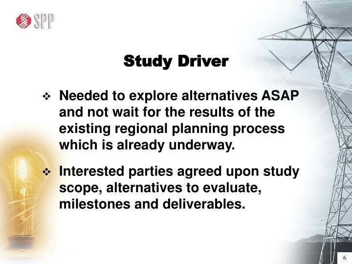 Study Driver