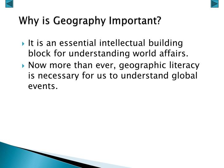3 Reasons Why Learning Geography Is Important