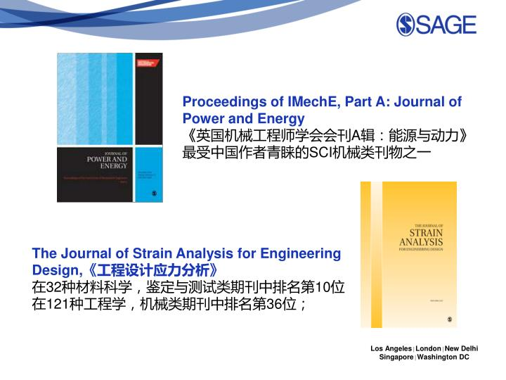 Proceedings of IMechE, Part A: Journal of Power and Energy