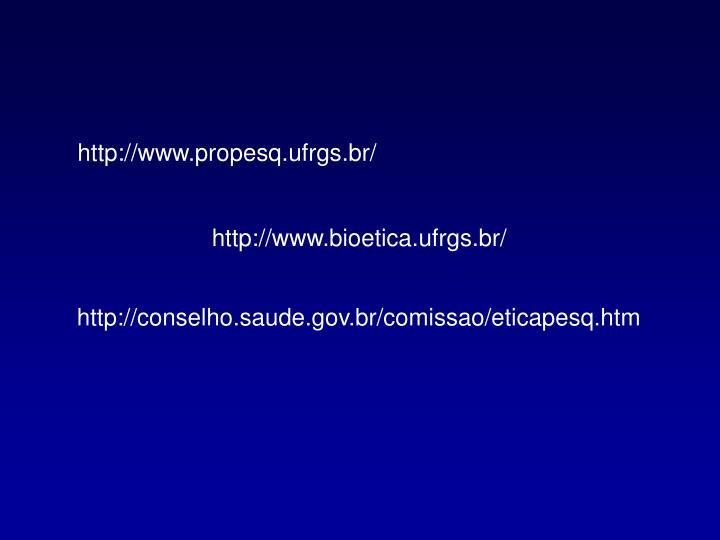 http://www.propesq.ufrgs.br/