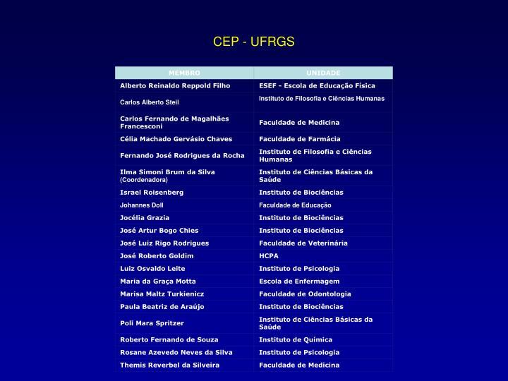 CEP - UFRGS