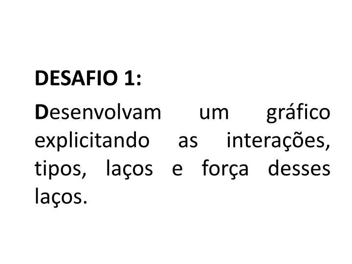 DESAFIO 1: