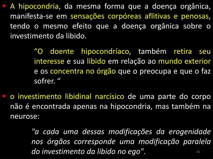 A hipocondria
