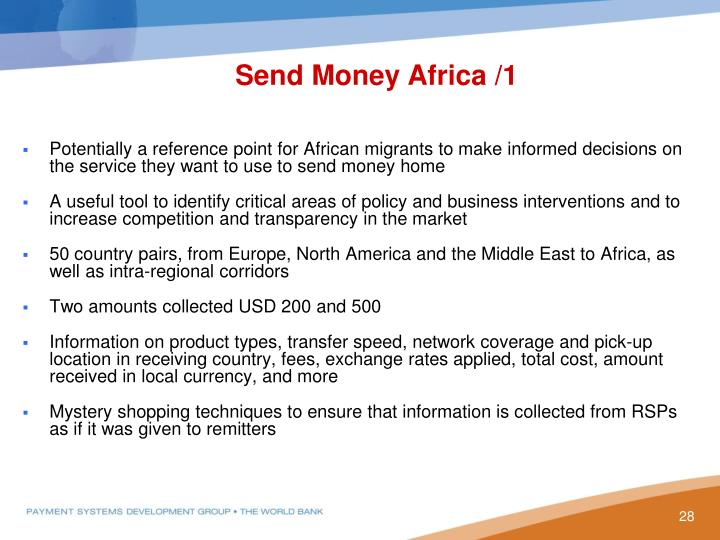 Send Money Africa /1