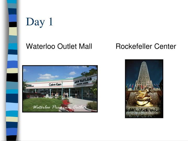 Waterloo Outlet Mall