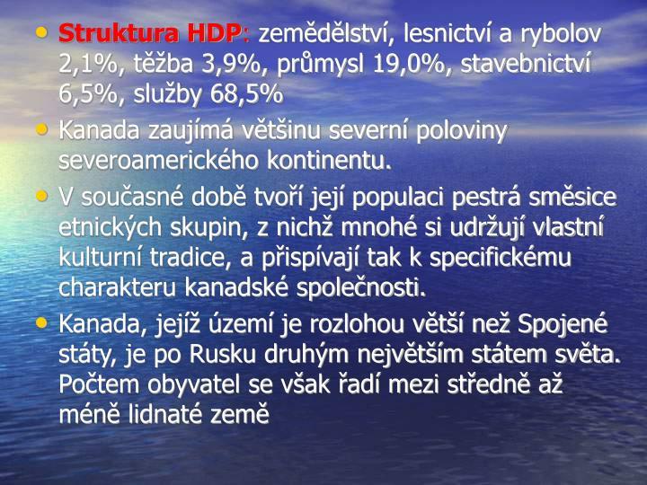 Struktura HDP