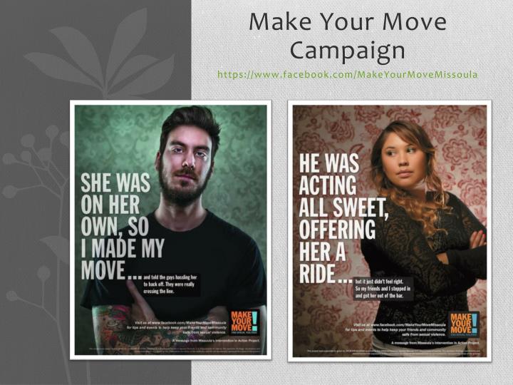 Make Your Move Campaign