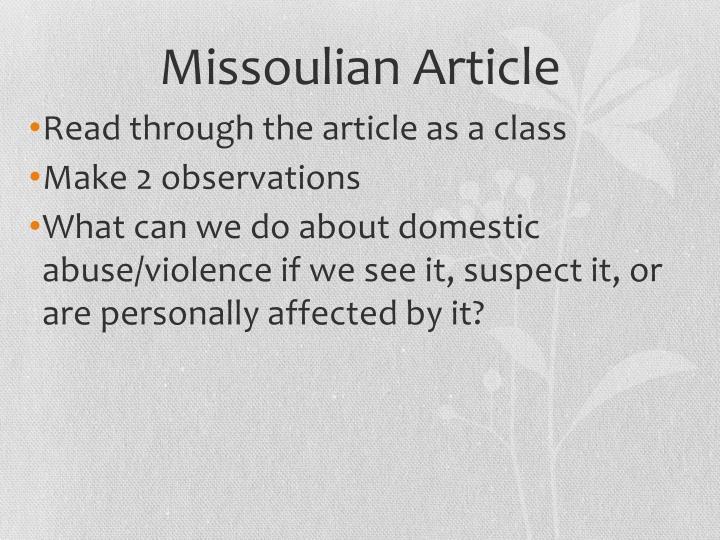 Missoulian