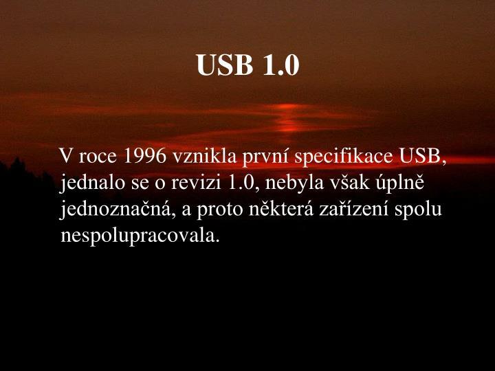USB 1.0
