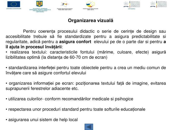 Organizarea vizuală
