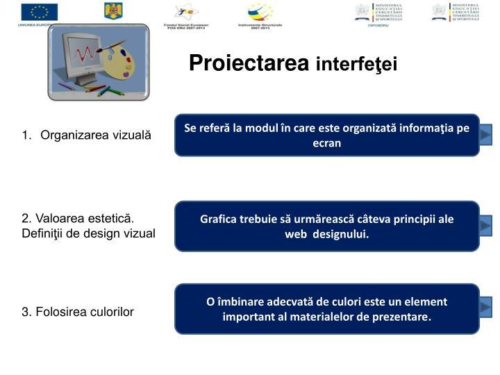 Proiectarea