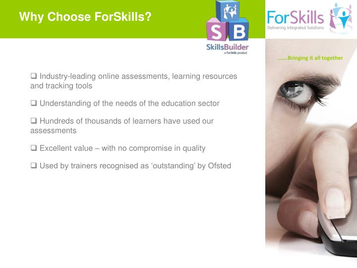 Why Choose ForSkills?