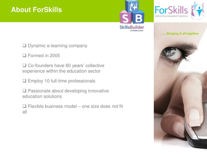 About ForSkills