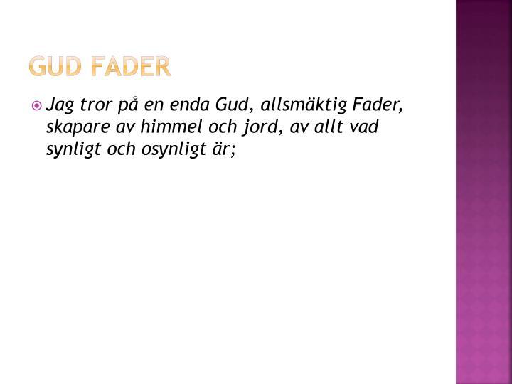 Gud fader