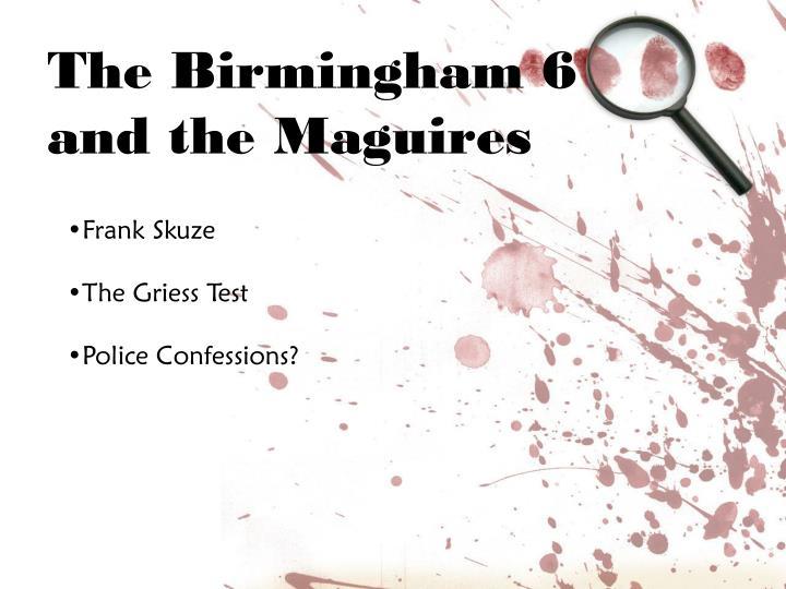 The Birmingham 6
