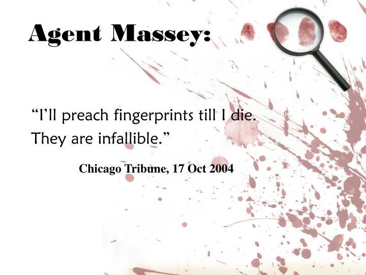 Agent Massey: