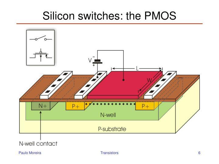 Silicon switches: the PMOS