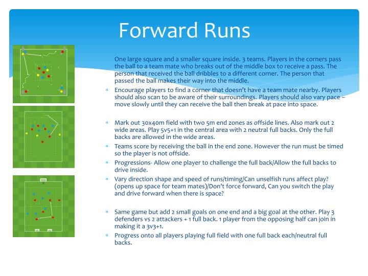 Forward Runs