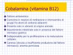 cobalamina vitamina b12