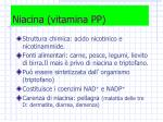 niacina vitamina pp