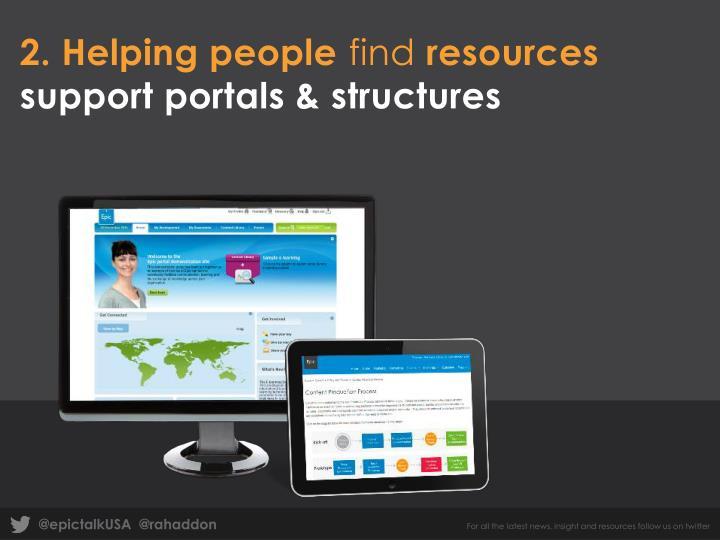 2. Helping people