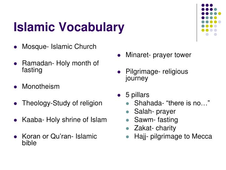 Mosque- Islamic Church