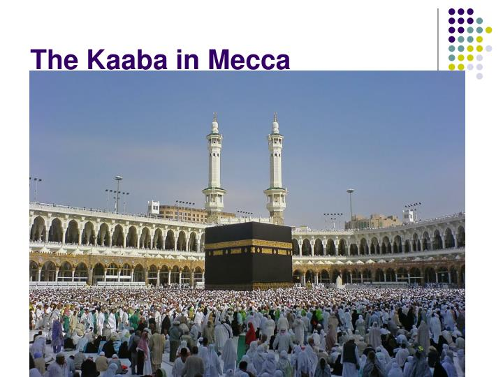 The Kaaba in Mecca