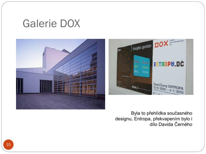 Galerie DOX
