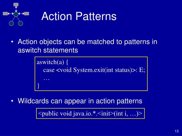 Action Patterns