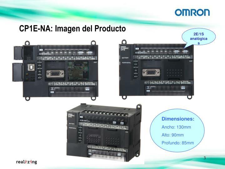 CP1E-NA: Imagen del Producto