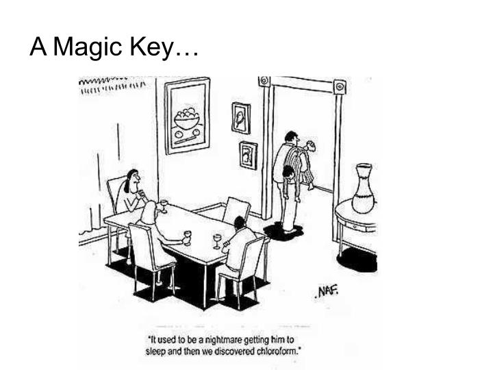 A Magic Key…