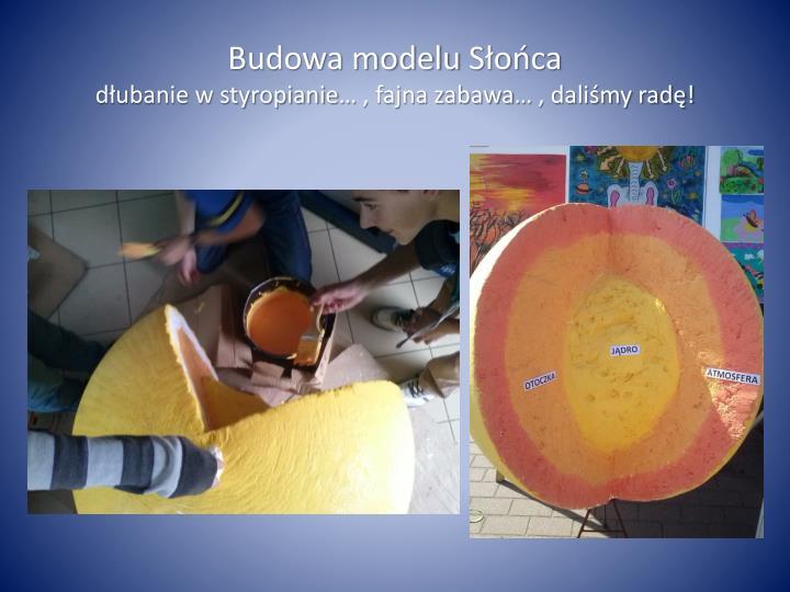 Budowa modelu