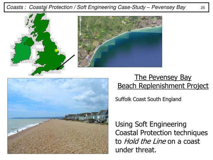 Coasts :  Coastal Protection / Soft Engineering Case-Study – Pevensey Bay