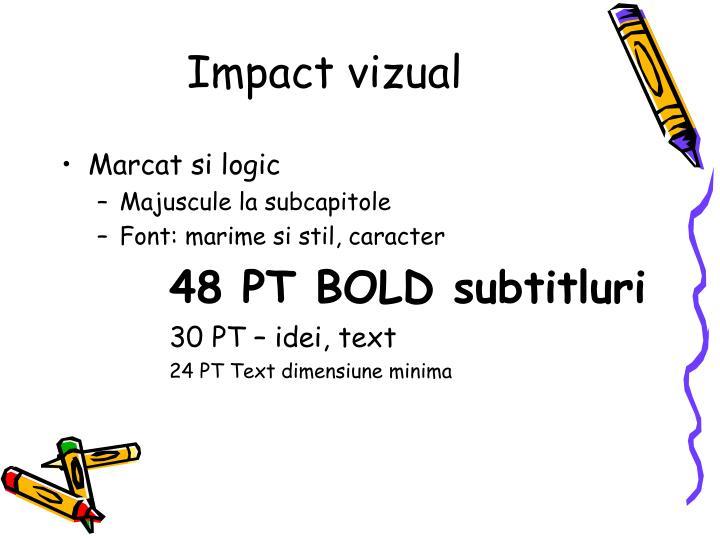 Impact vizual